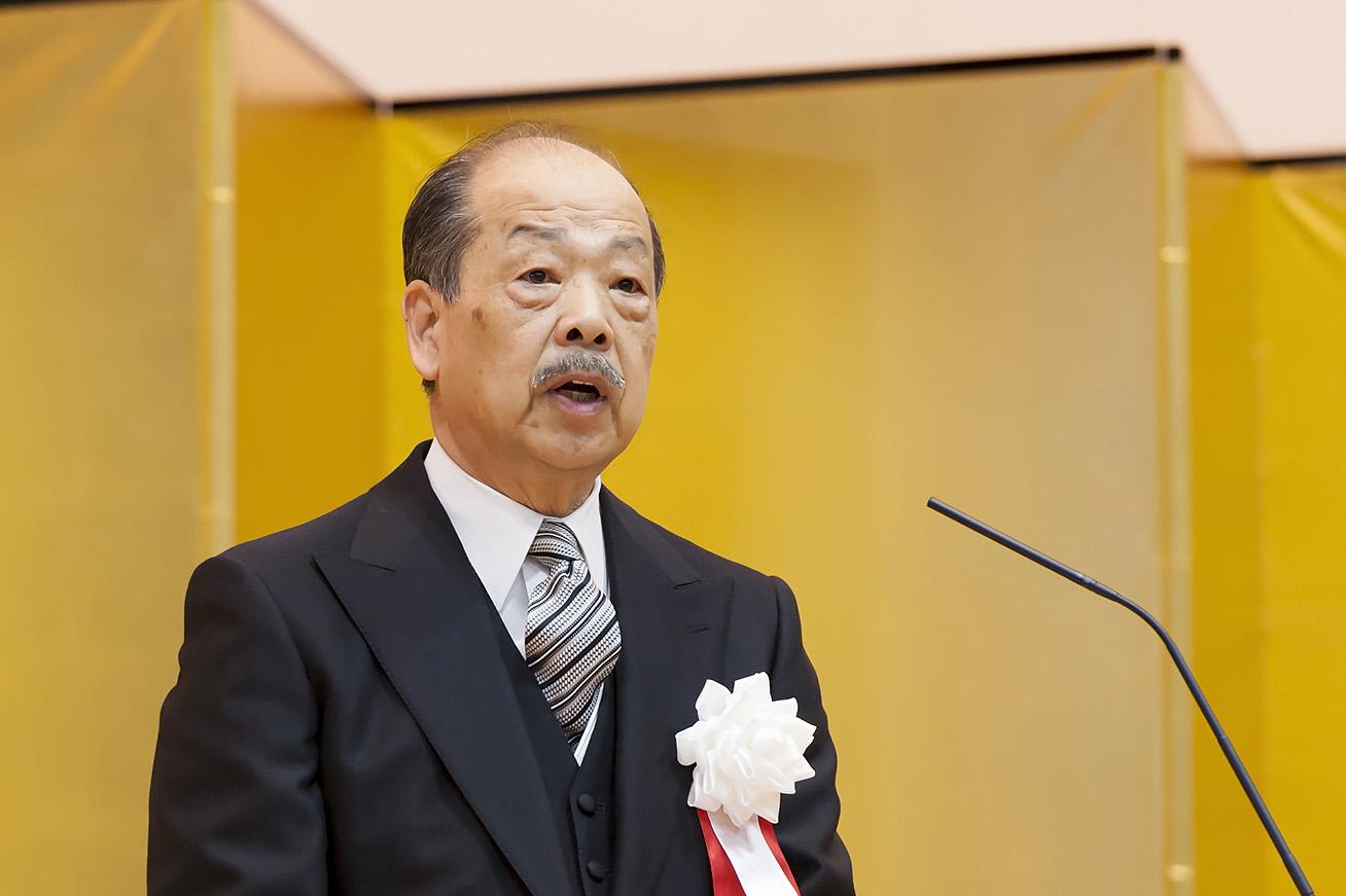2017入会式_名誉会長